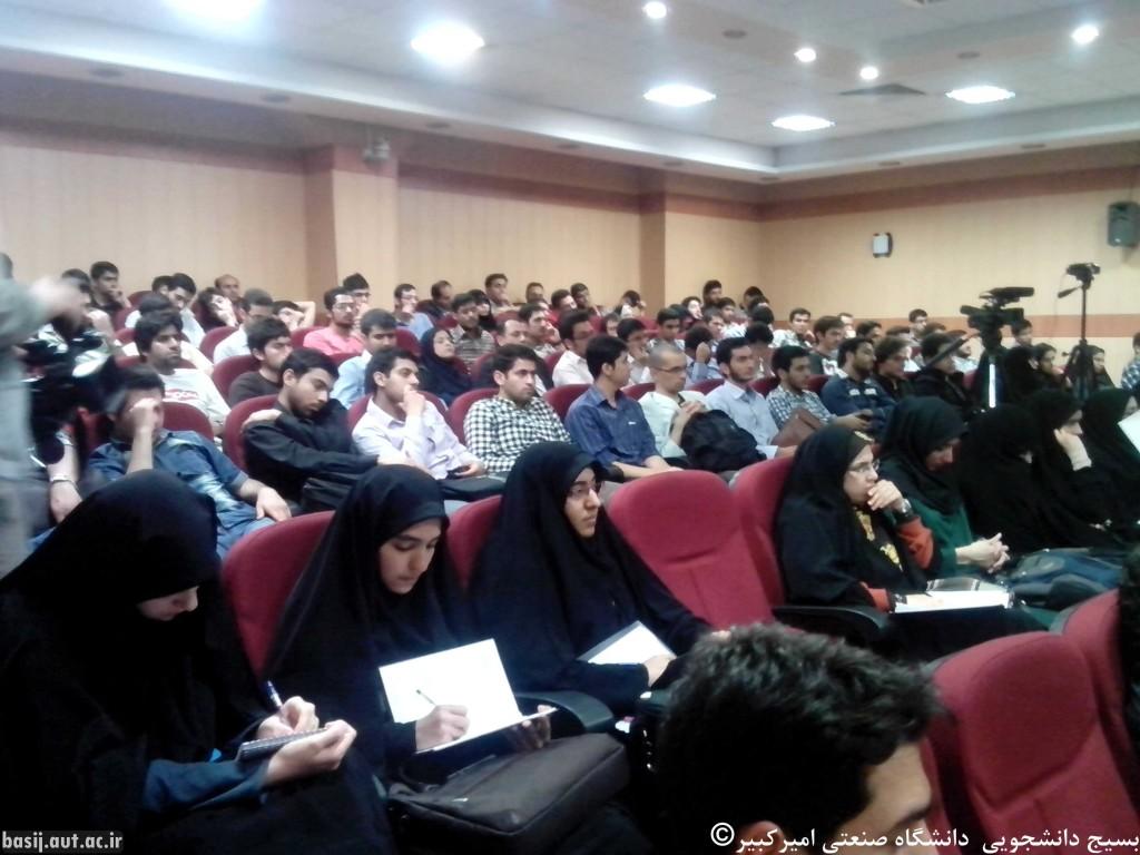 پرسش و پاسخ دانشجویی با حضور حجت الاسلام مصطفی پورمحمدی